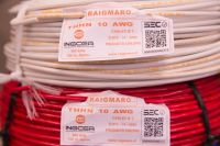 CABLE  THHN / THWN   10  AWG  600 V.